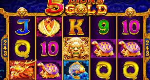 slot 5 lions online1